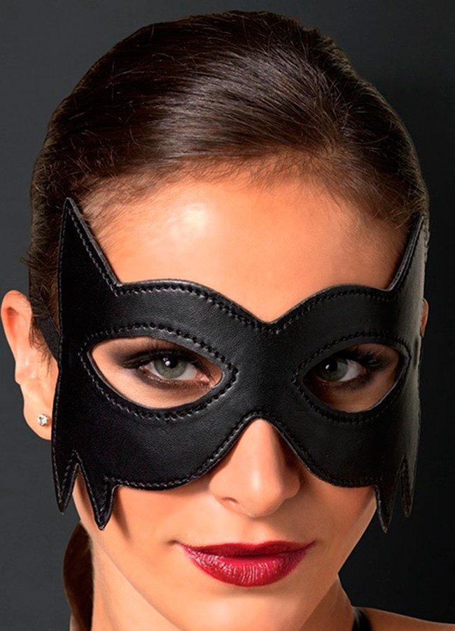 Batman Siyah Deri Göz Maskesi | 0545 356 96 07