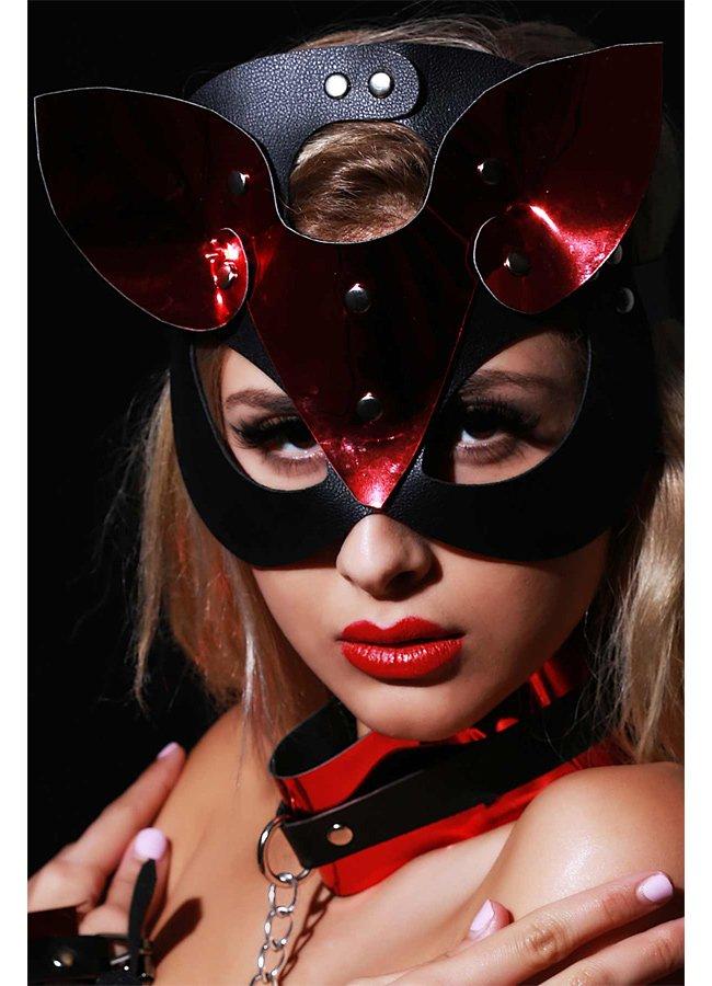 Fantazi Deri Maske Parcia | 0545 356 96 07