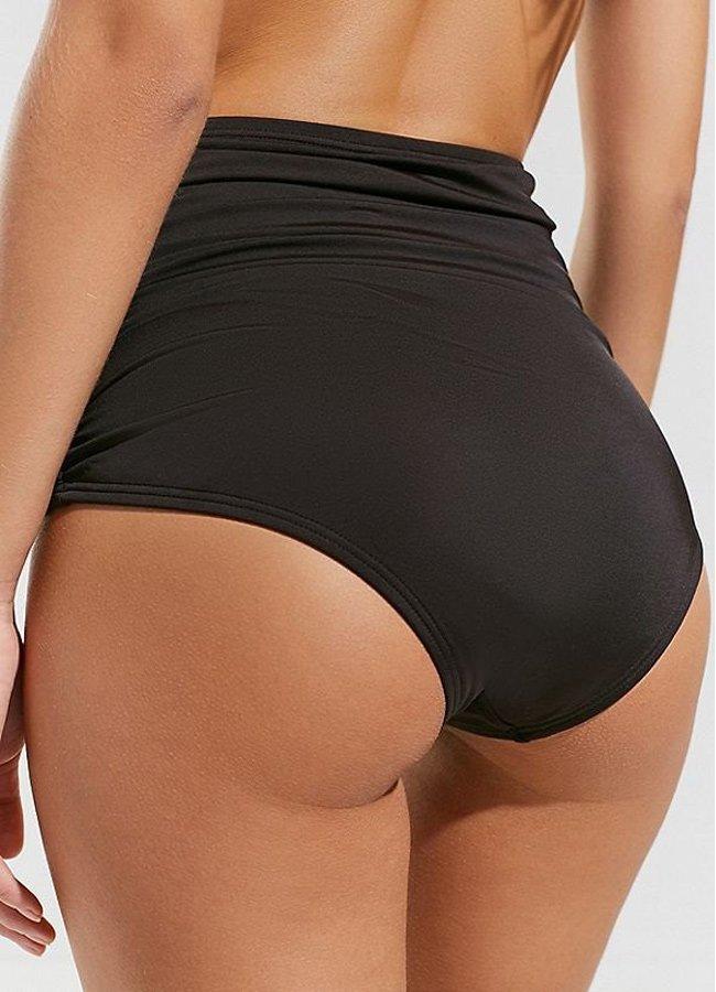 Siyah Yüksek Bel Bikini Takım | 0545 356 96 07