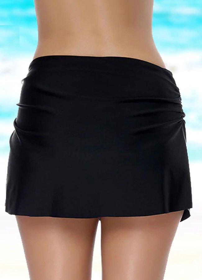 Angelsin Siyah Etekli Bikini Alt | 0545 356 96 07