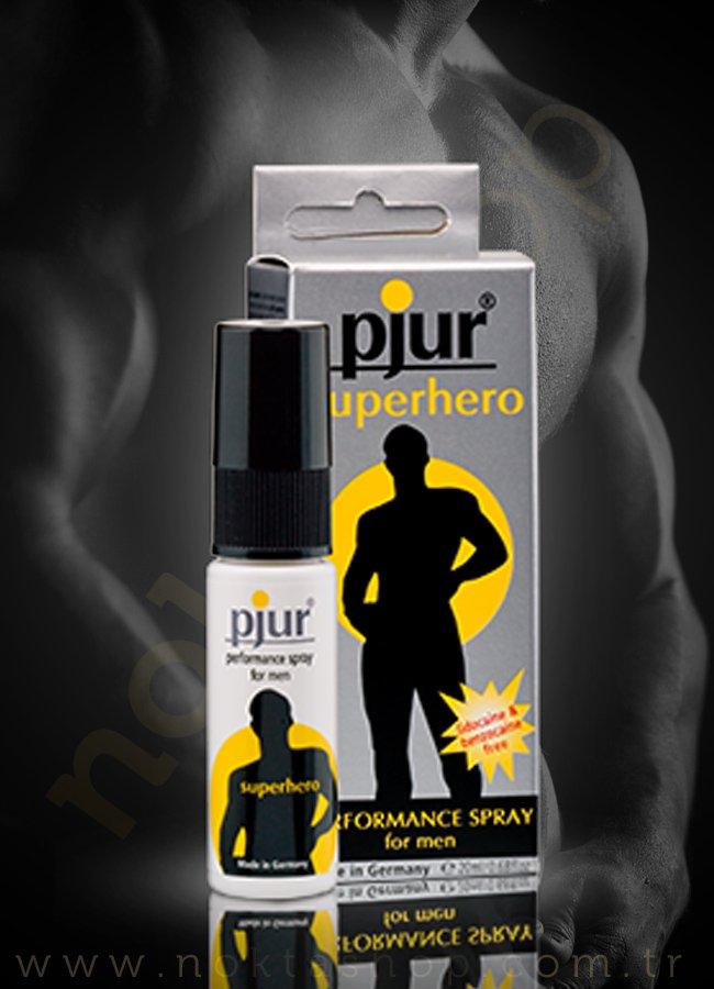 Pjur Superhero Spray | 0545 356 96 07