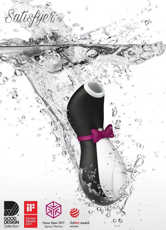 Satisfyer Pro Penguin Clitoral Oral Vibratör   0545 356 96 07