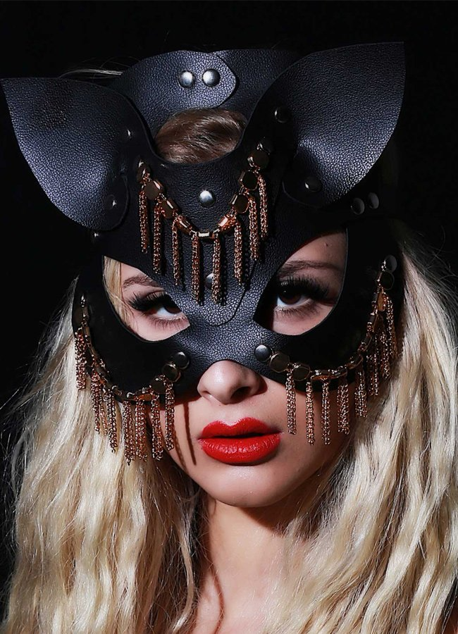 Fantazi Deri Maske Oriental | 0545 356 96 07