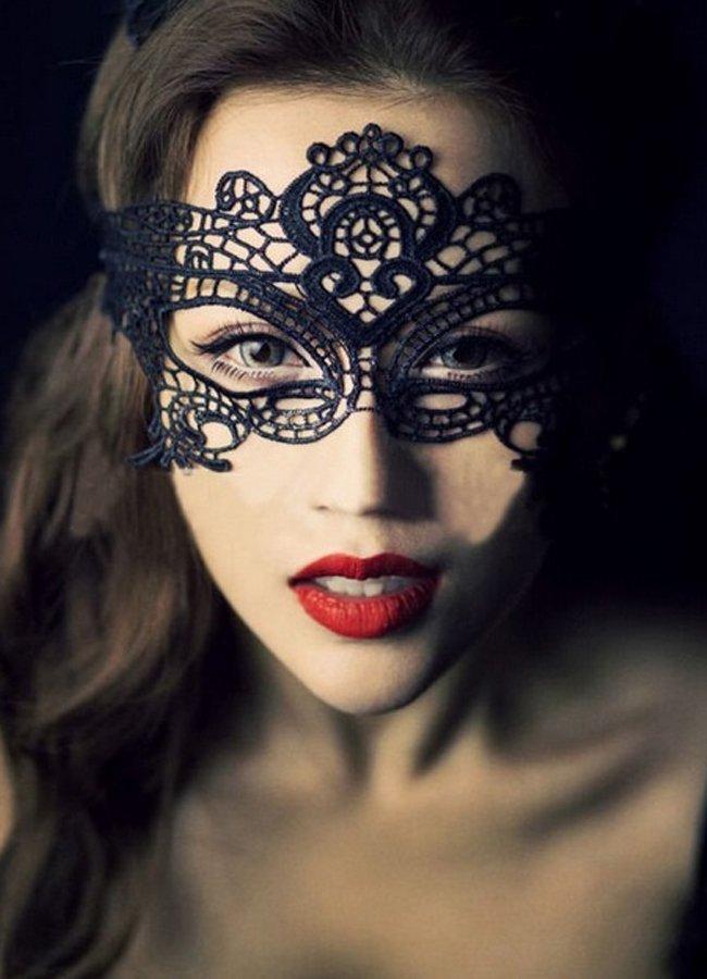 Seksi Siyah Dantelli Maske | 0545 356 96 07
