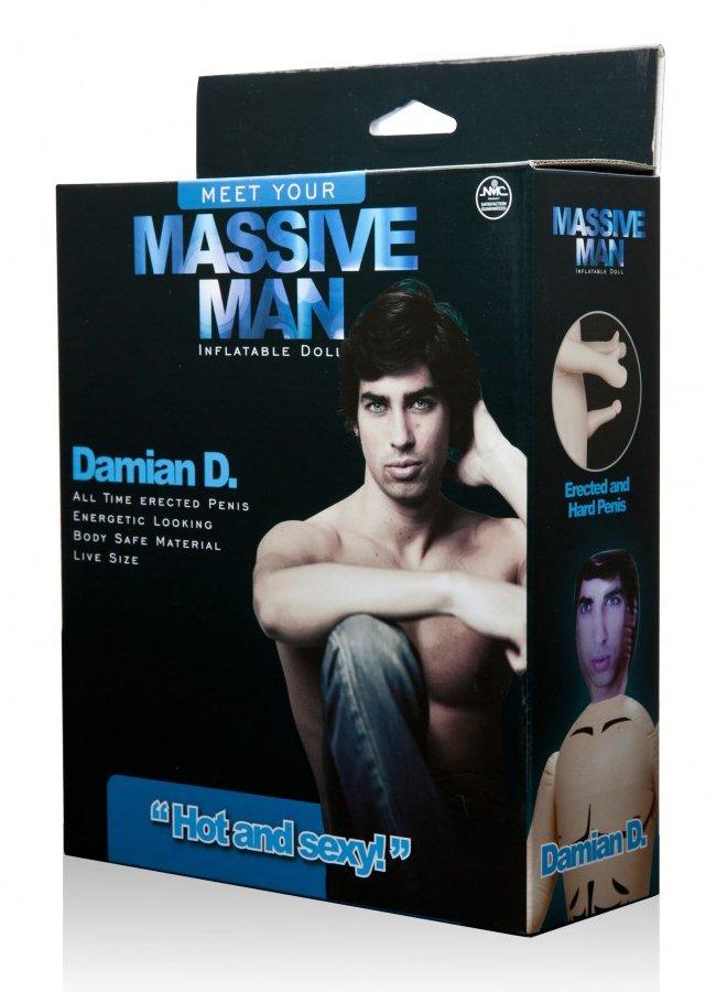 Massive Man Erkek Şişme Bebek Damian D   0545 356 96 07