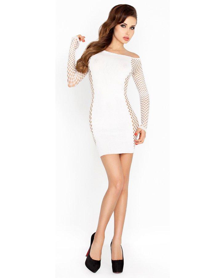 Fileli Seksi Beyaz Fantazi Elbise | 0545 356 96 07
