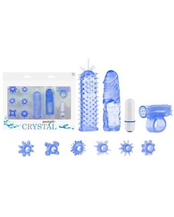 Magic Crystal Orgazm Seti Mavi | 0545 356 96 07