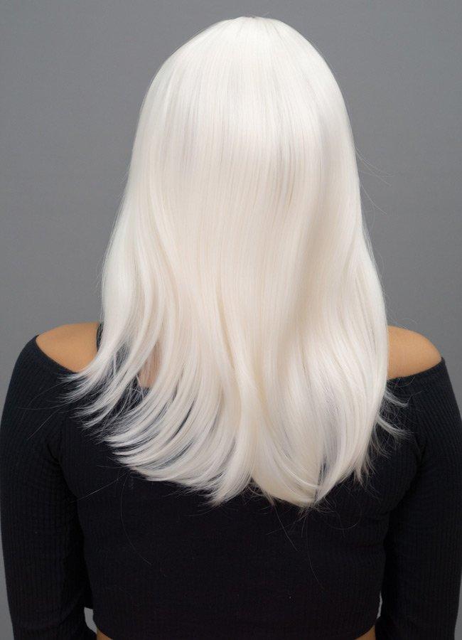 Orta Boy Renkli Beyaz Peruk | 0545 356 96 07
