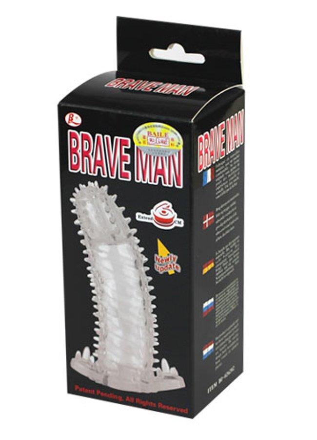 Brave Man Titreşimsiz Penis Kılıfı | 0545 356 96 07