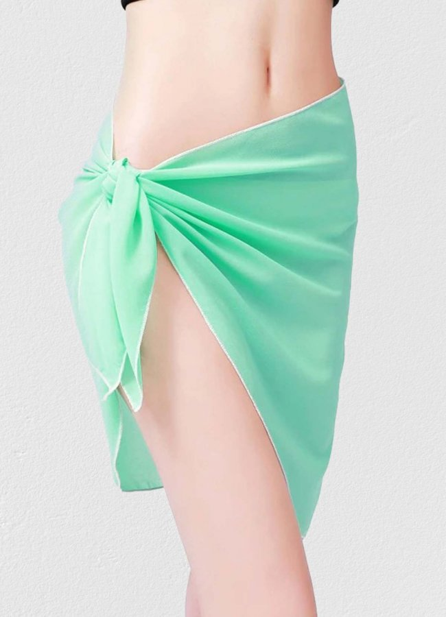 Mint Yeşili Tül Pareo | 0545 356 96 07
