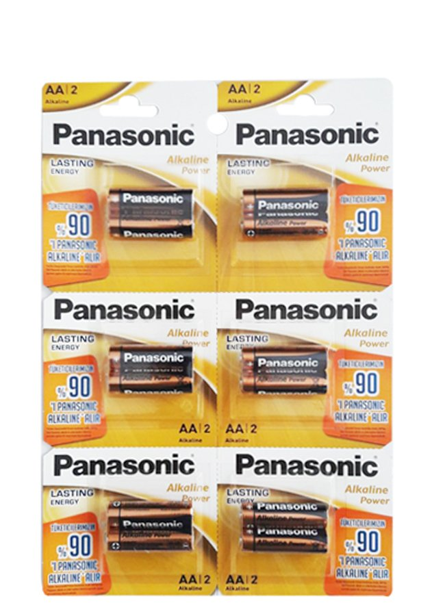 Panasonic Power Alkalin 2xAA Kalem Pil | 0545 356 96 07