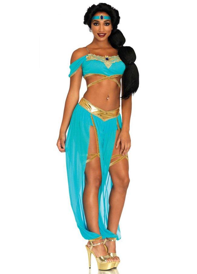 Seksi Aksesuarlı Hint Dansöz Kostümü | 0545 356 96 07