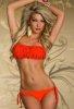 Fırfırlı Turuncu Bikini