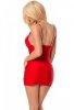 Kırmızı Seksi Gece Elbisesi