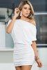 Şık Beyaz Mini Elbise