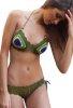 Örme Renkli Özel Tasarım Bikini