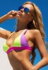 Renkli Yeni Şık Tasarım Bikini