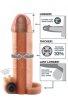 İçi Boş 16.5 Cm Titreşimli Penis Kılıfı