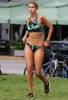 Renkli Özel Tasarım Tankini Bikini