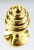 Kırmızı Küçük boy gold anal plug