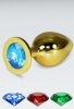 Büyük Boy Gold Anal Plug