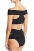 Siyah Özel Tasarım Bikini Üst
