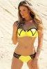 Sarı Şık Tasarımlı Bikini