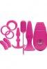 Flirty Kit Çiftler için Aşk Seti 3 Pembe