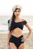 Siyah Özel Tasarım Bikini Alt